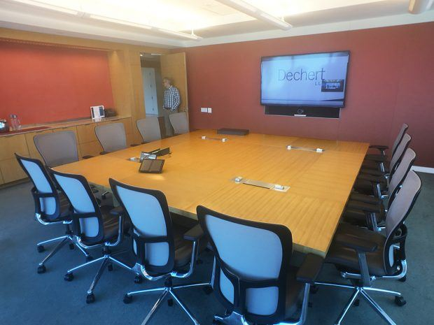 Dechert NY Modular Conference Tables