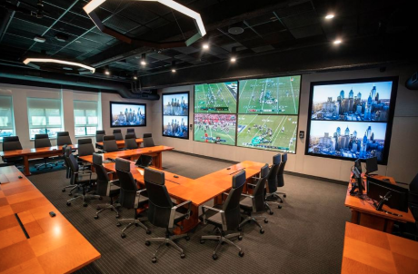 Eagles Draft Room Modular Tables