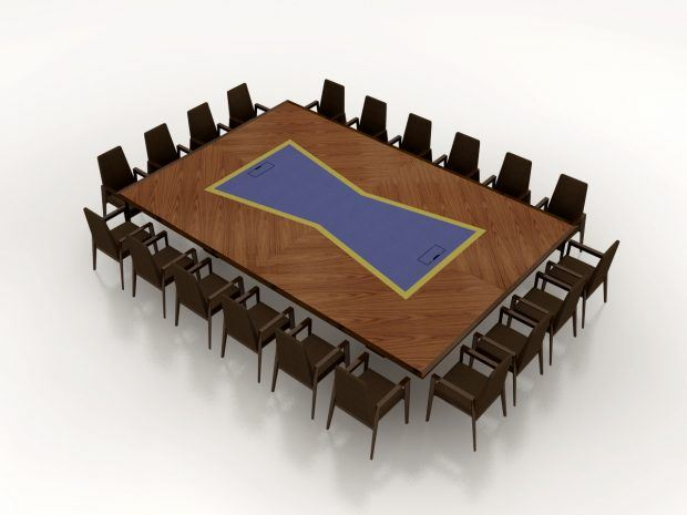 HPG Embassy Suites Conference Table