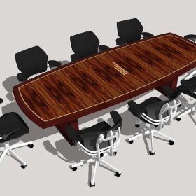 Hinkson Financial Services Conference Table