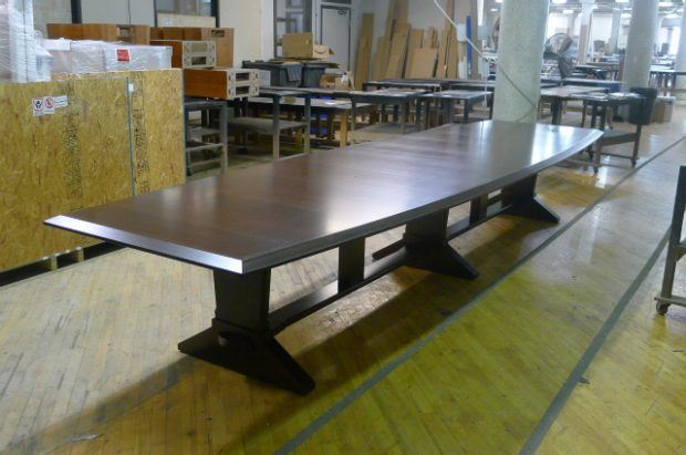 sleek conference table