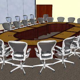 Danella Modular Conference Table