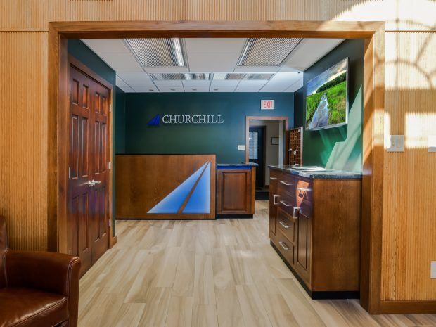 Churchill Engineers Reception Area