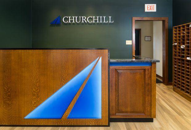 Churchill Engineers Reception Area