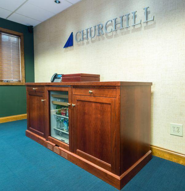6′ Credenza w/ Fridge – Churchill
