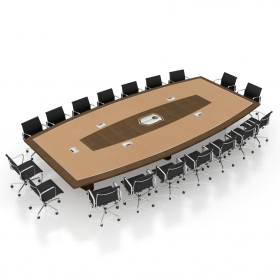 WatchGuard War Room Conference Table