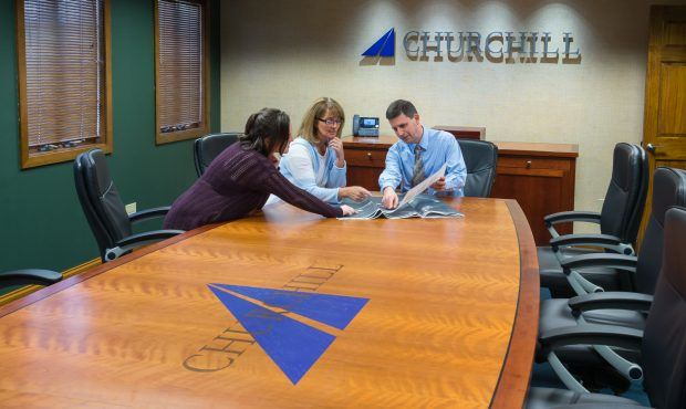 Churchill Engineers Conference Table