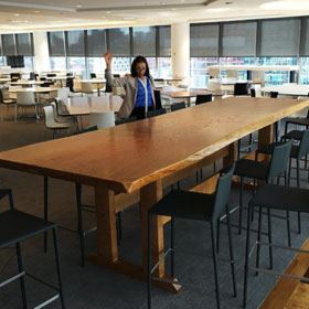 Solid Wood Slab Table Tops