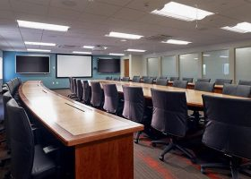 WL Gore Custom Meeting Room Tables