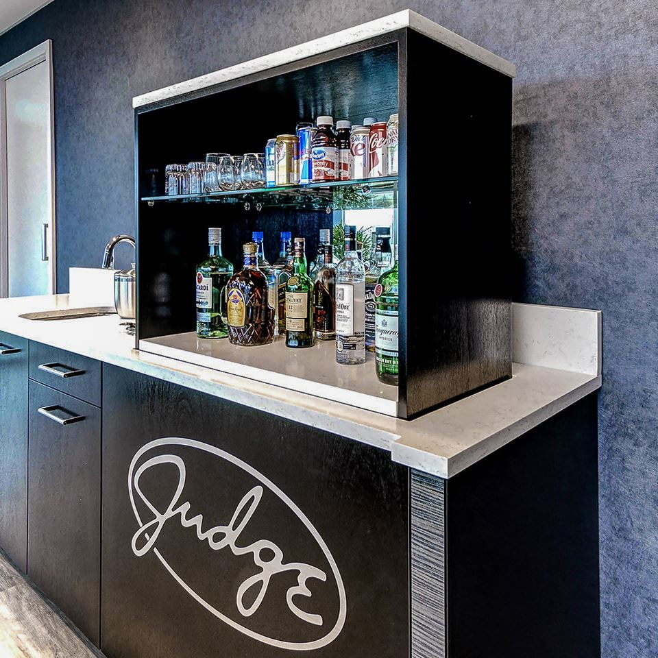 Judge Group Credenza With Custom Wet Bar