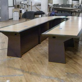 Reconfigurable U Shape Conference Table | Paul Downs Cabinetmakers