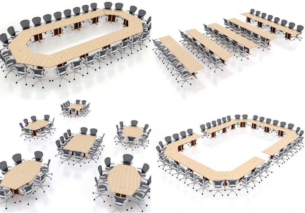 Reconfigurable Conference Tables