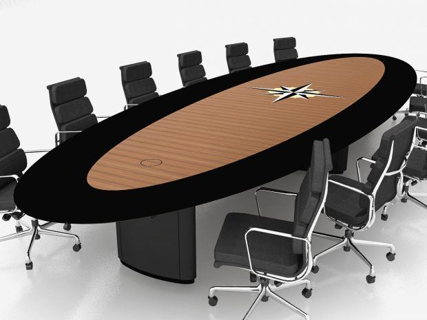 Christian Brothers Boardroom Conference Table