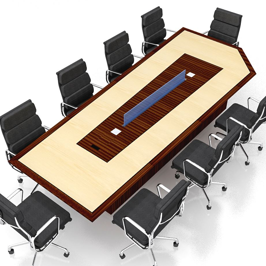 Modified Keystone Conference Table Paul Downs Cabinetmakers