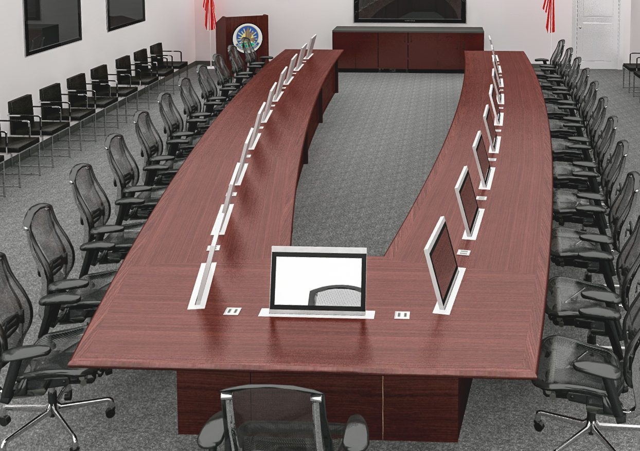 custom conference room tables