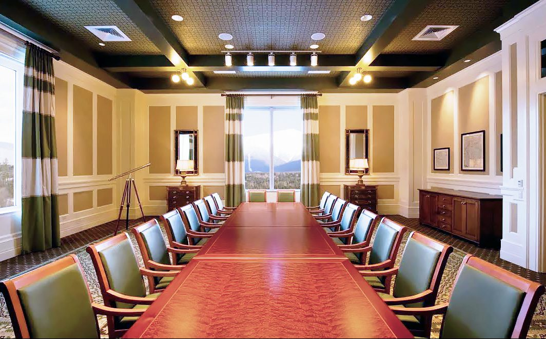 custom conference room table