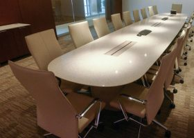 Vanguard Quartz Video Conference Table