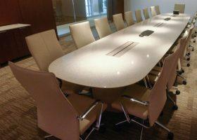 Vanguard Quartz Video Conference Table