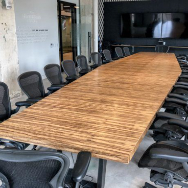 wood conference tables