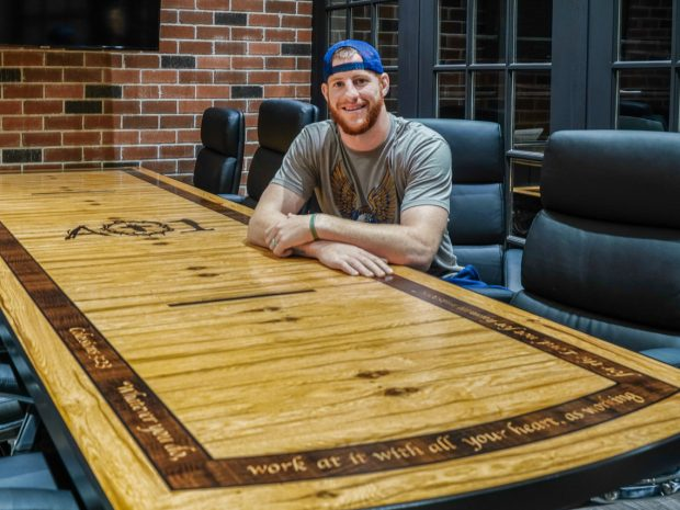 Carson Wentz's AO1 Foundation Conference Table