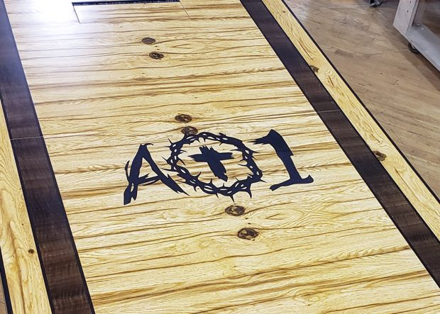 AO1 Foundation American Chestnut Rectangle Table