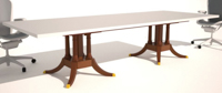 conference table base options