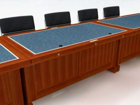 logo conference table