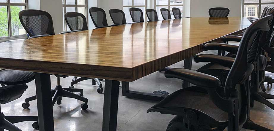 Custom Conference Tables Size