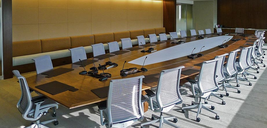 Custom Conference Tables - Boat