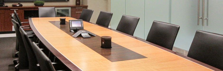 Conference Table with Power