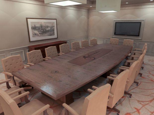 Salamander Resort Conference Table