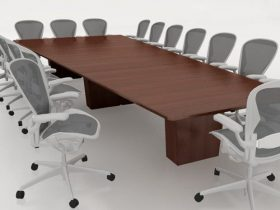 Bancroft Solid Top Conference Table