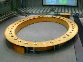 Bank Institution Conference Table
