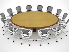 Human Capital Oval Conference Table
