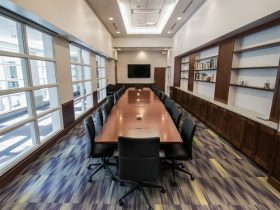 James Madison University Conference Table