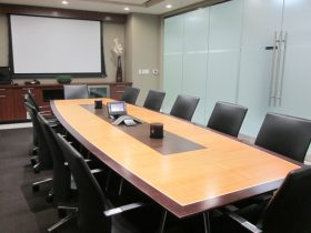 MCR Oil Tools Conference Table