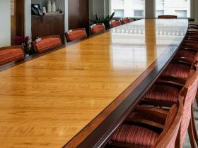 MacDonald Hoague & Bayless Conference Table