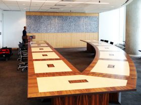NASA-CRF Modular Conference Tables