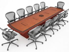 Nebraska Machinery Conference Table