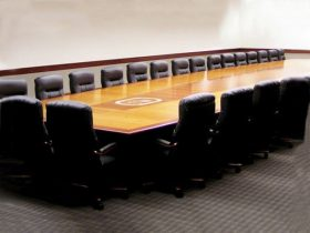 PGCM Boardroom Conference Table