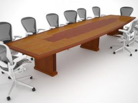 Telemus Solutions Conference Table