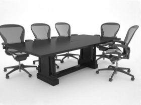 Virtual Edge Boardroom Conference Table