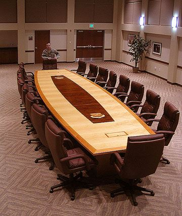 460th Space Wing Boat Conference Table
