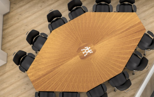 Custom Conference Tables for Difficult Rooms