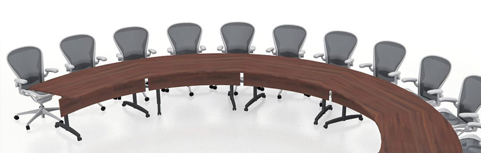 Folding Conference Room Table