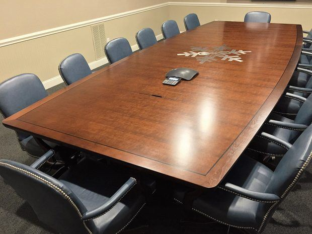 Burris Logistics 2 Industrial Conference Table