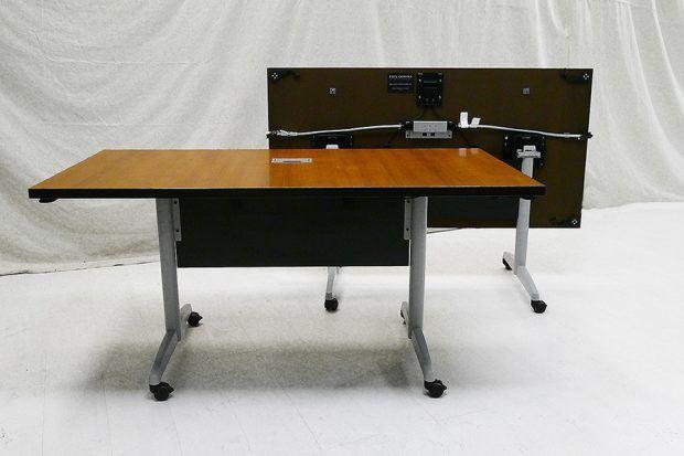 Mahogany Conference Room Table - Ebonized Cherry
