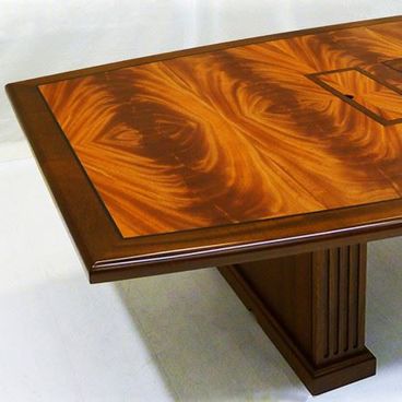 Mahogany Conference Table - Wood Conference Tables