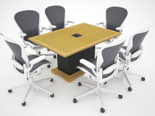 Modular Table - Extron Cable Cubby