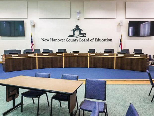 New Hanover County Schools Conference Table